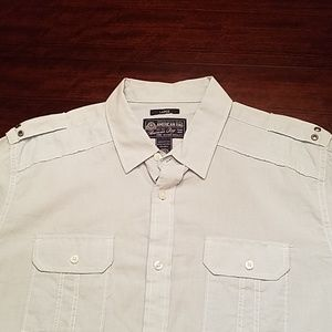 American Rag Large Mens Light Blue Shirt